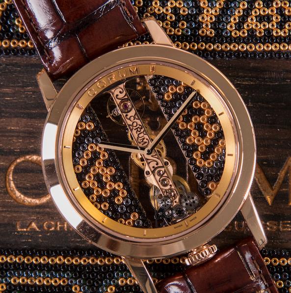 Corum y Menchaca Studio presentan reloj inspirado en el arte huichol