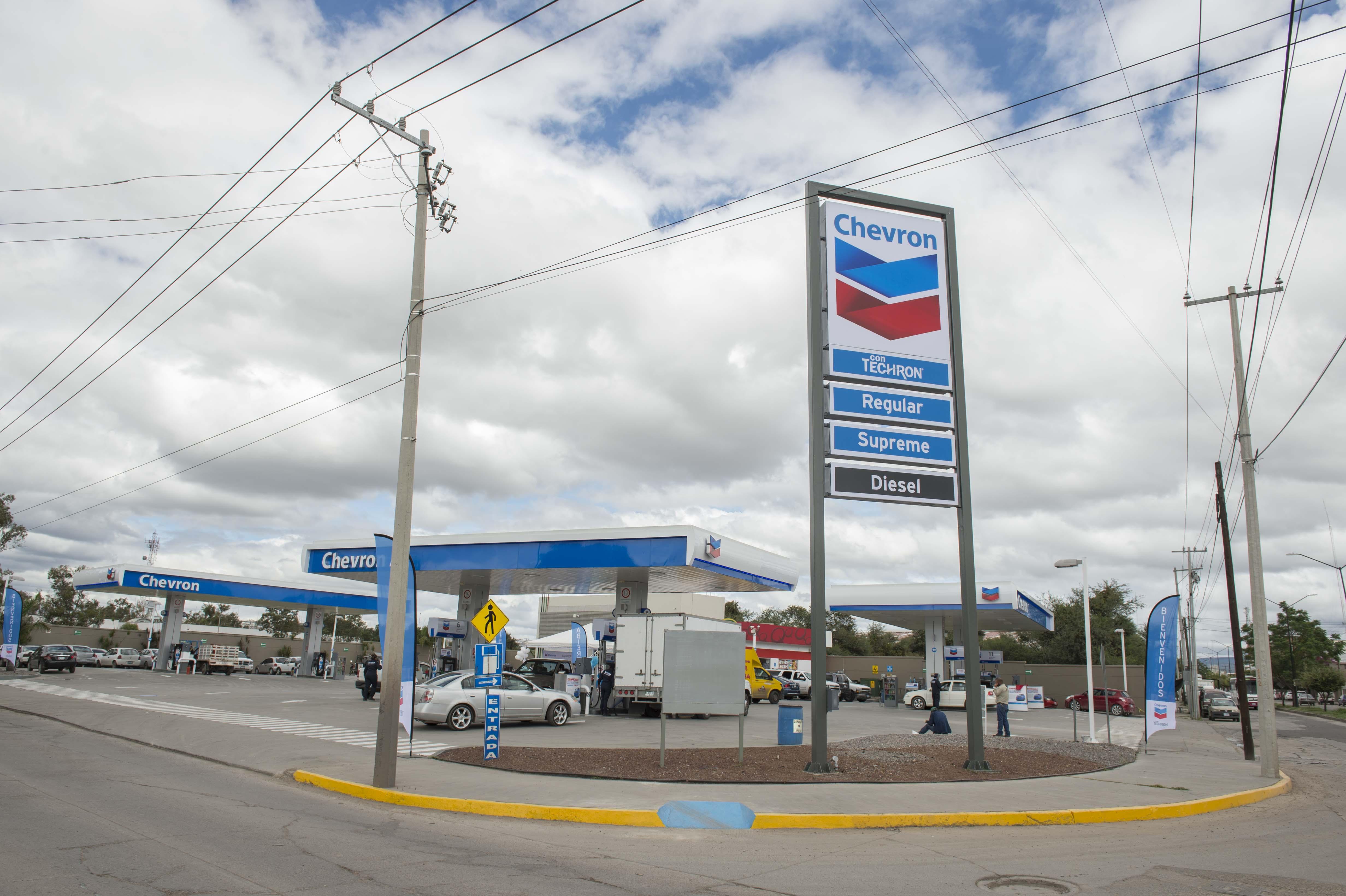 Chevron abre su primera gasolinera en El Bajío