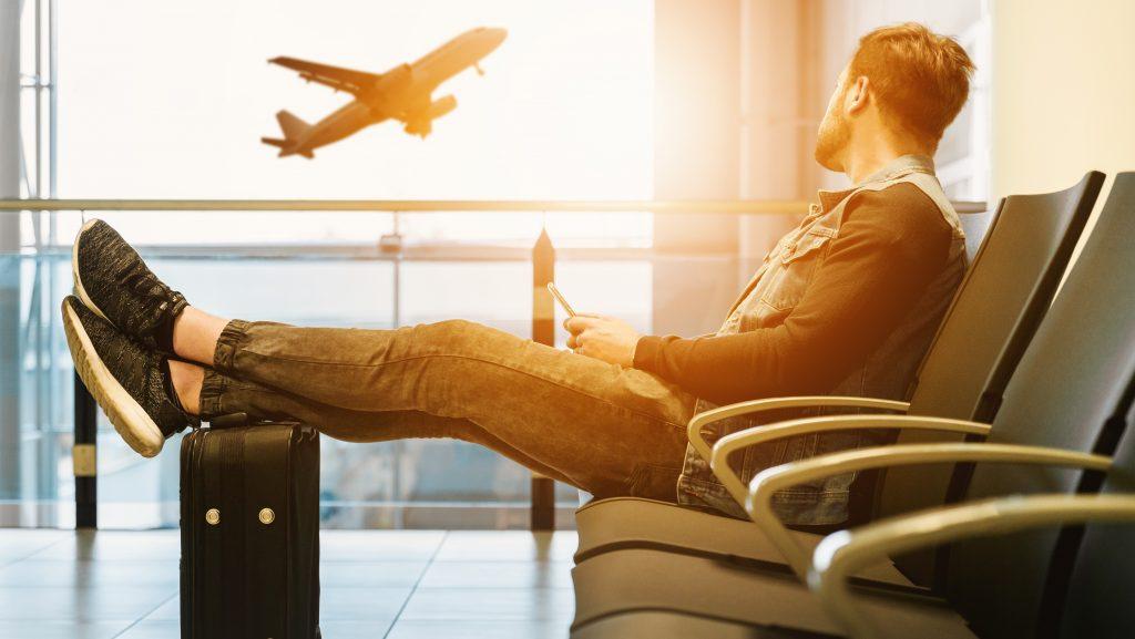 boleto de avión verano
