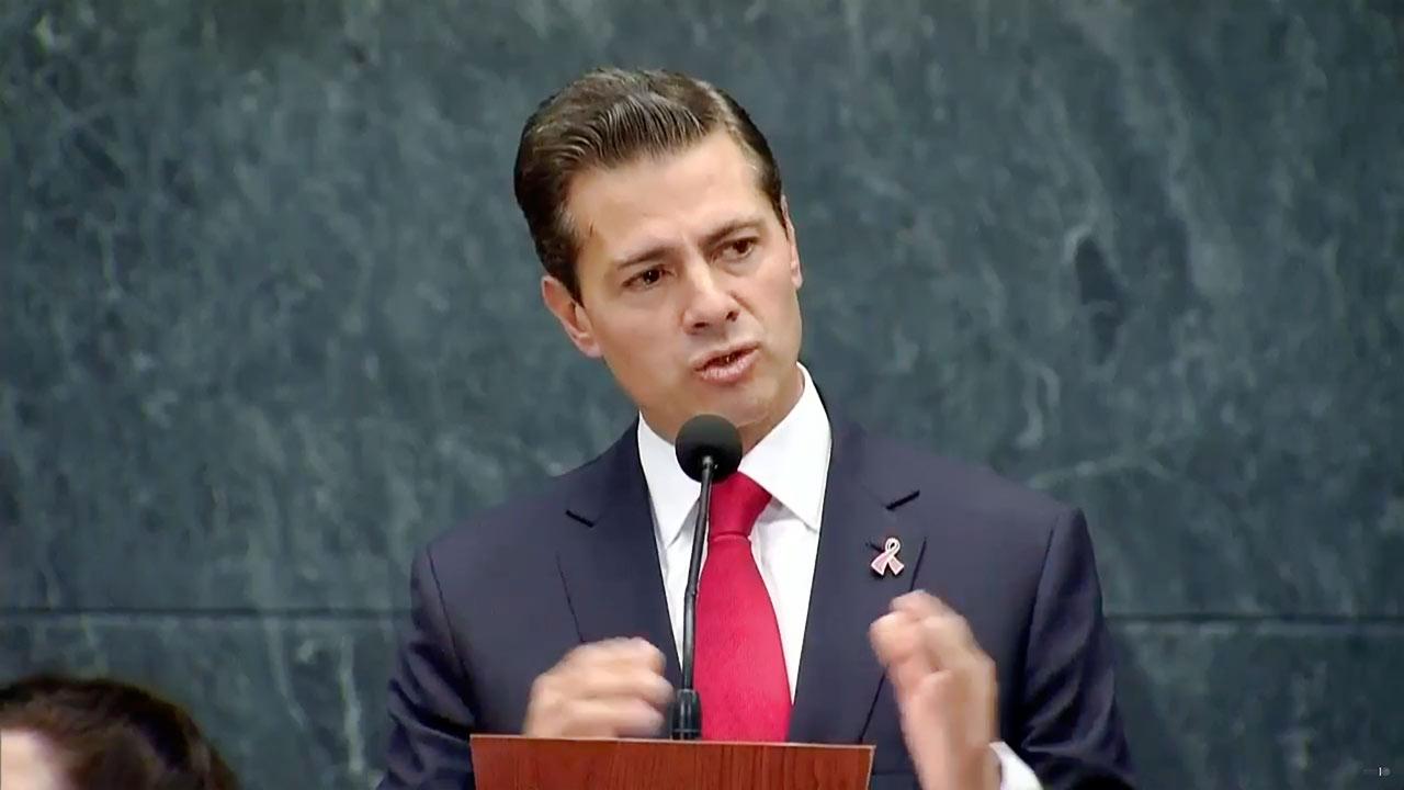 No me iré a España; viviré en México, aclara Peña Nieto