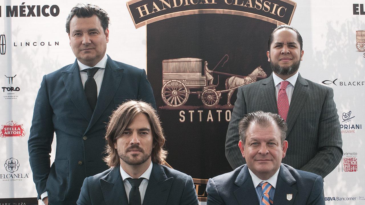 Arriba: David Sttaton y Alberto Cervantes, abajo: Antonio Madrazo y Guillermo Steta. Foto: Angélica Escobar/Forbes México.