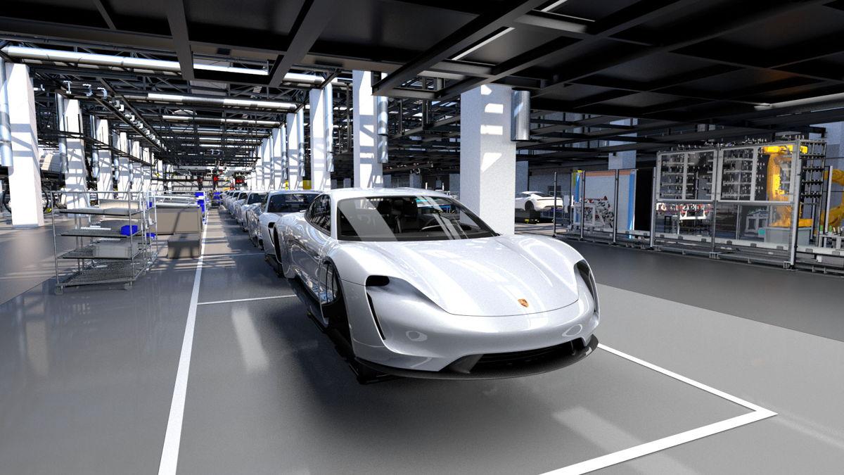 Taycan, la llave de Porsche para entrar de lleno a la era eléctrica