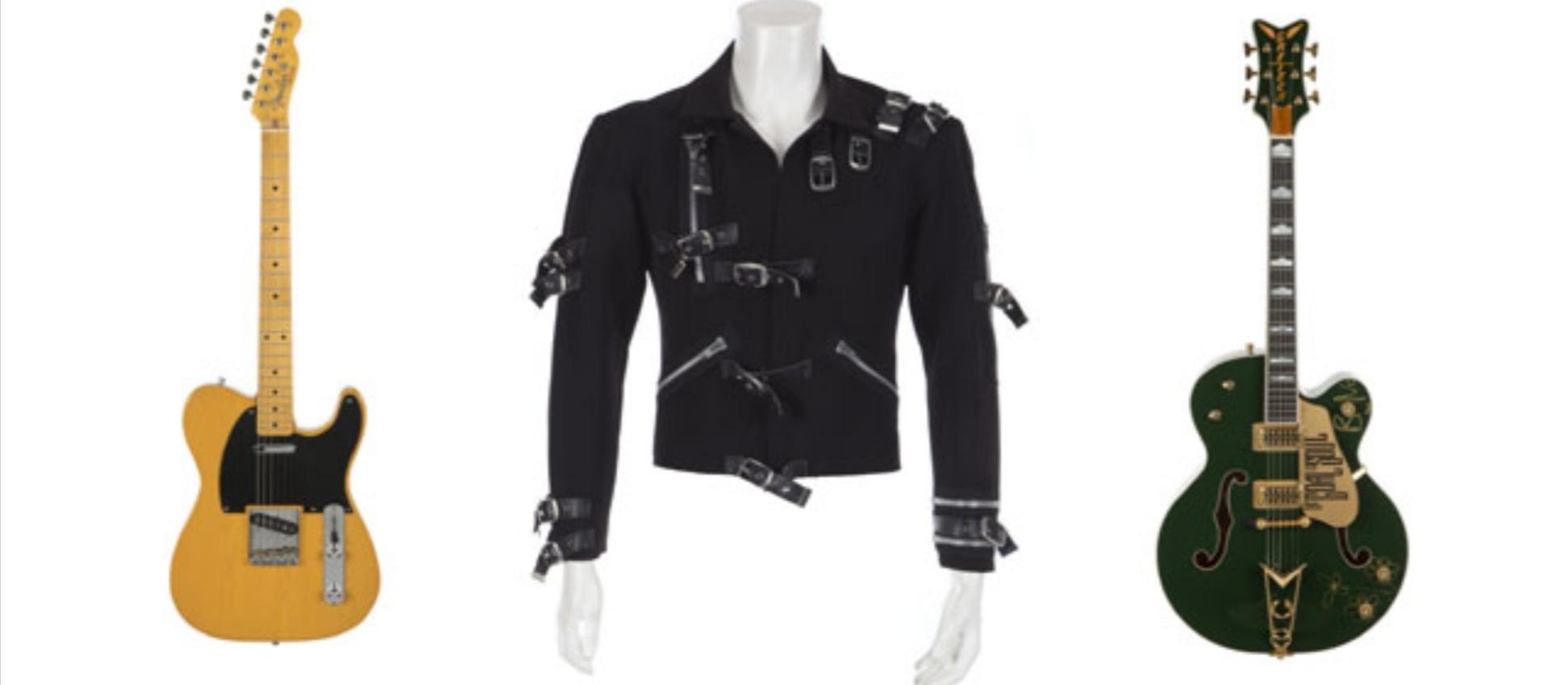 "Screenshot 20181028 080710 1 - Subastarán chaqueta de la gira ""Bad"" de Michael Jackson"