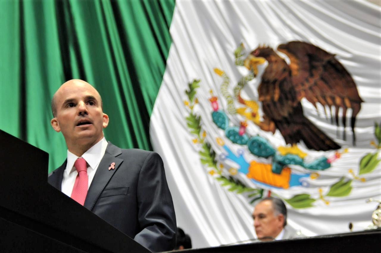 AMLO heredará economía resiliente, dice González Anaya ante el Congreso