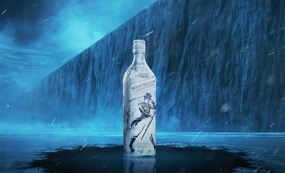 Johnnie Walker y Game Of Thrones crean un whisky inspirado en los White Walkers