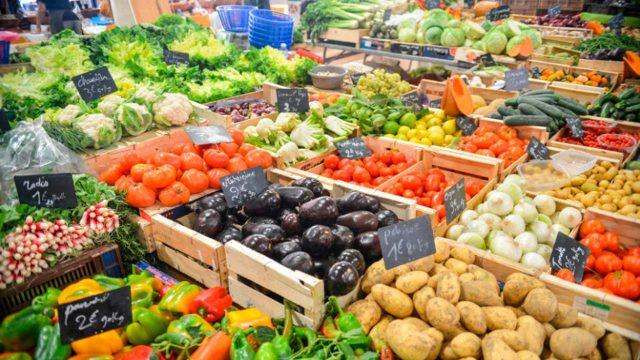 cae el precio de los alimentos