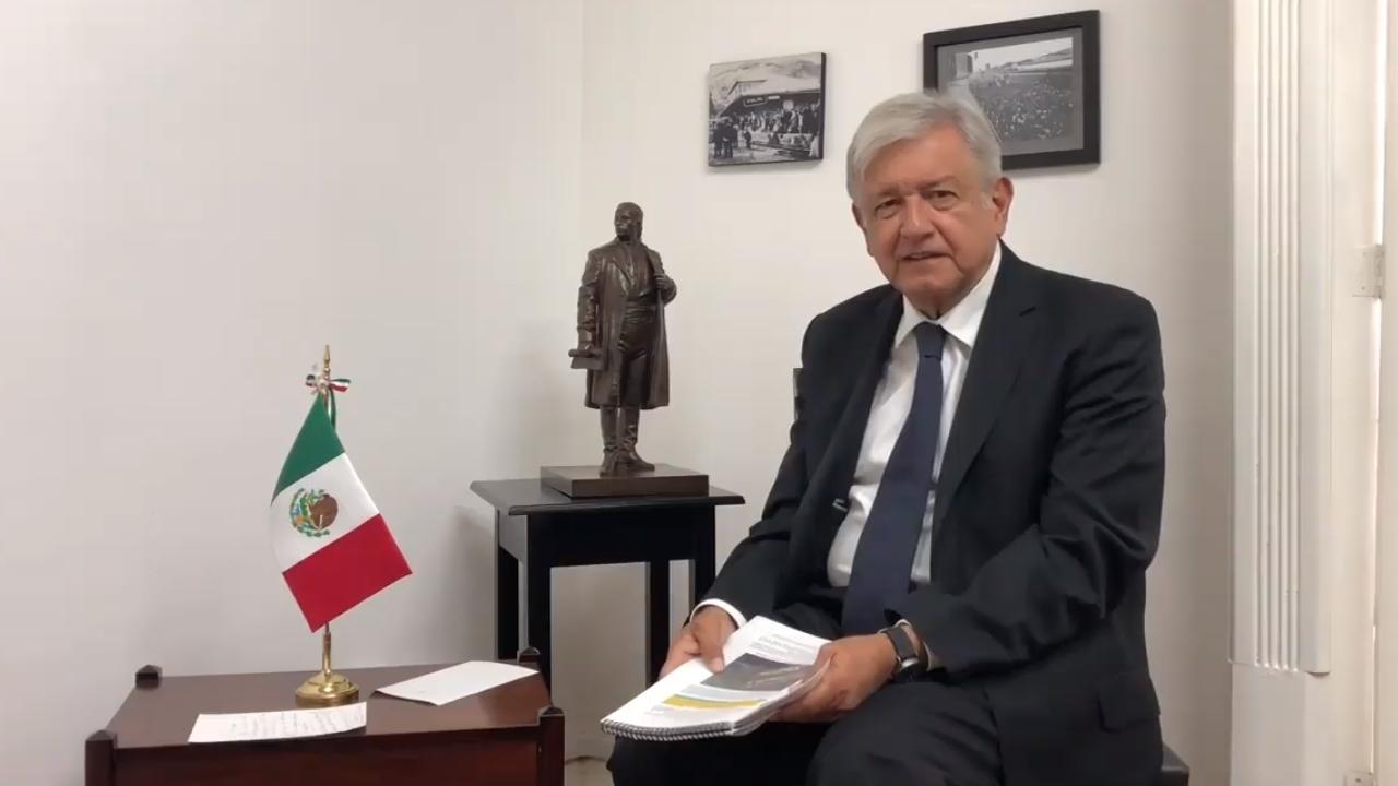 Gabinete del presidente electo Andrés Manuel López Obrador