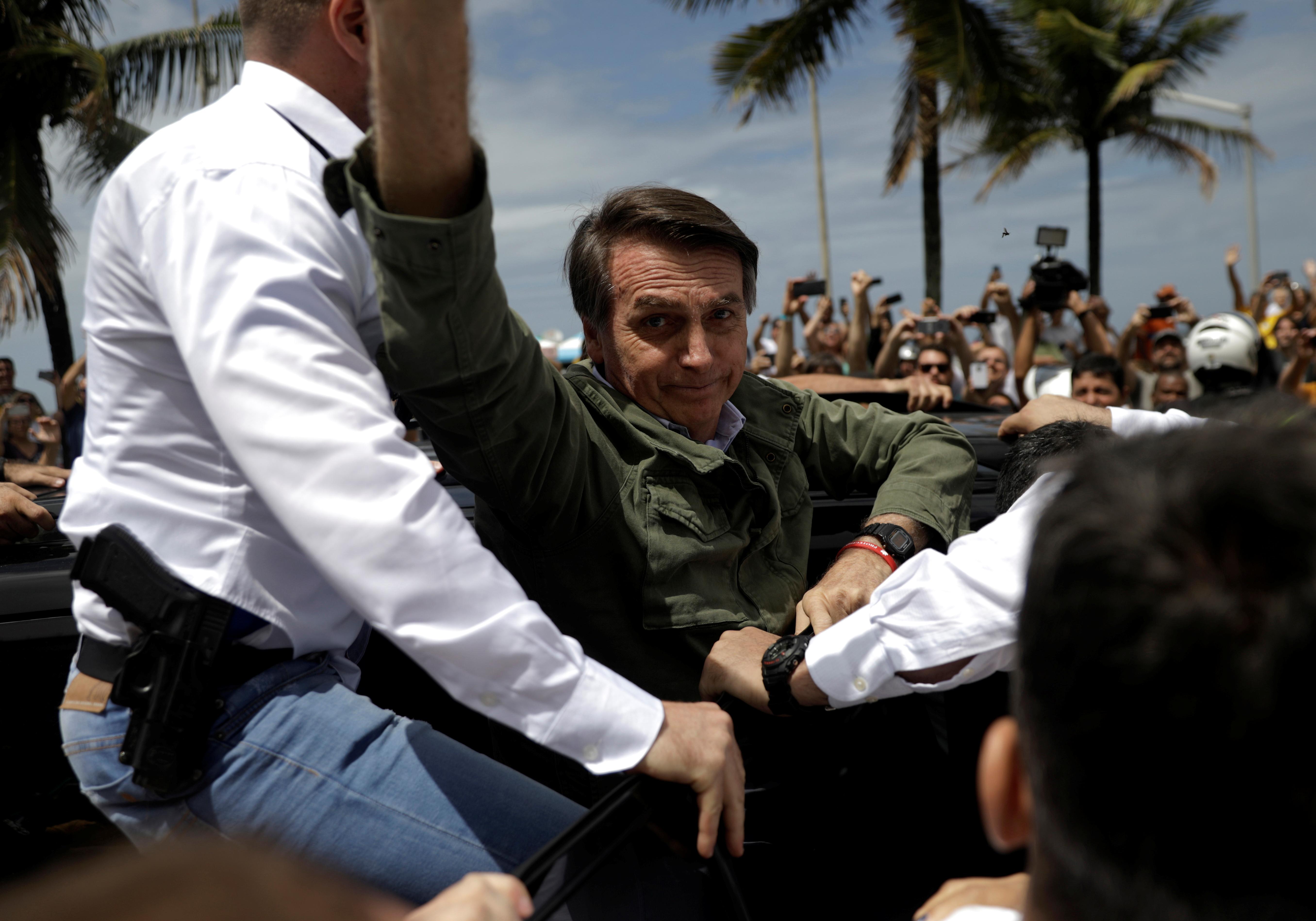 El exmilitar Jair Bolsonaro gana la presidencia en Brasil