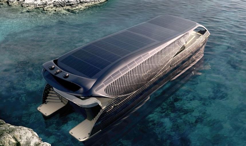 La era de los yates de lujo impulsados por energía solar se acerca