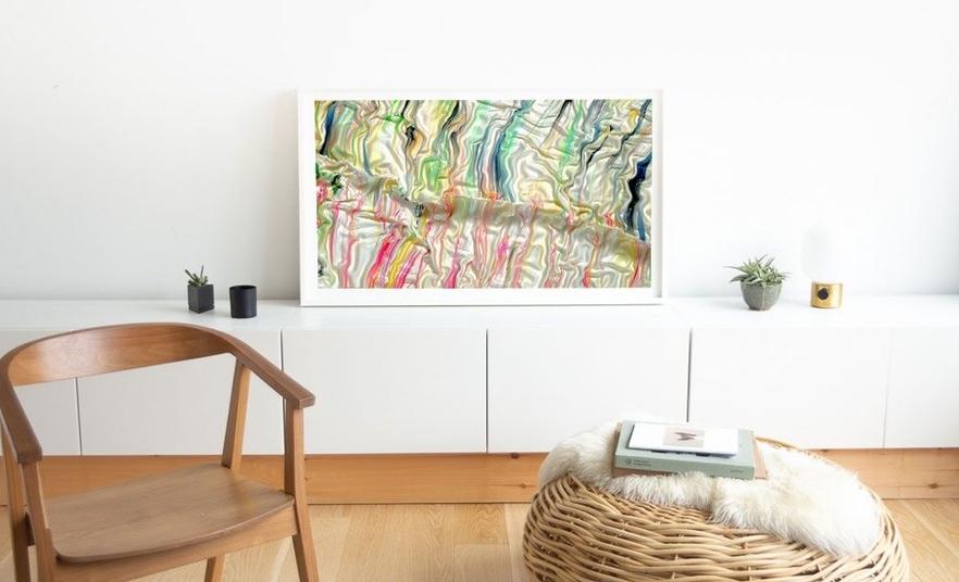 Depict, el cuadro digital que llenará tu casa de arte