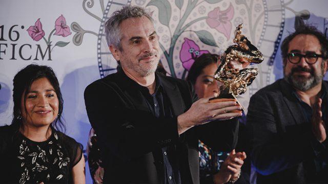 Alfonso Cuarón Festival Internacional de Cine de Morelia
