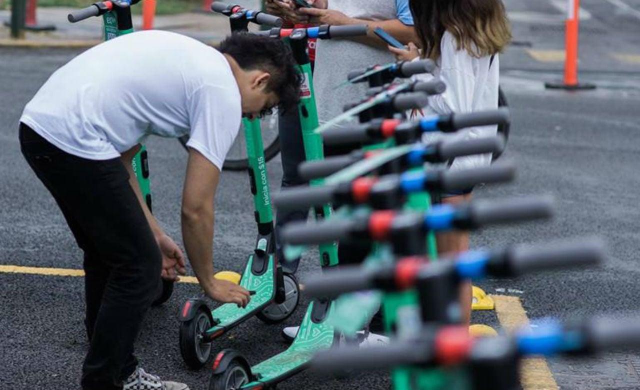 Scooters eléctricos de Grin suspenden servicio por regulación