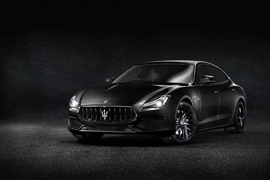Maserati Quattroporte GTS Nerissimo Edition, el rebelde del lujo