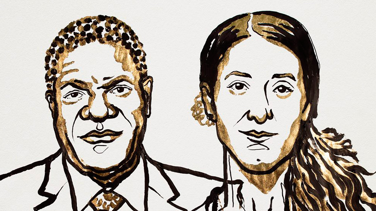 El congoleño Denis Mukwege y la iraquí Nadia Murad reciben el Nobel de la Paz