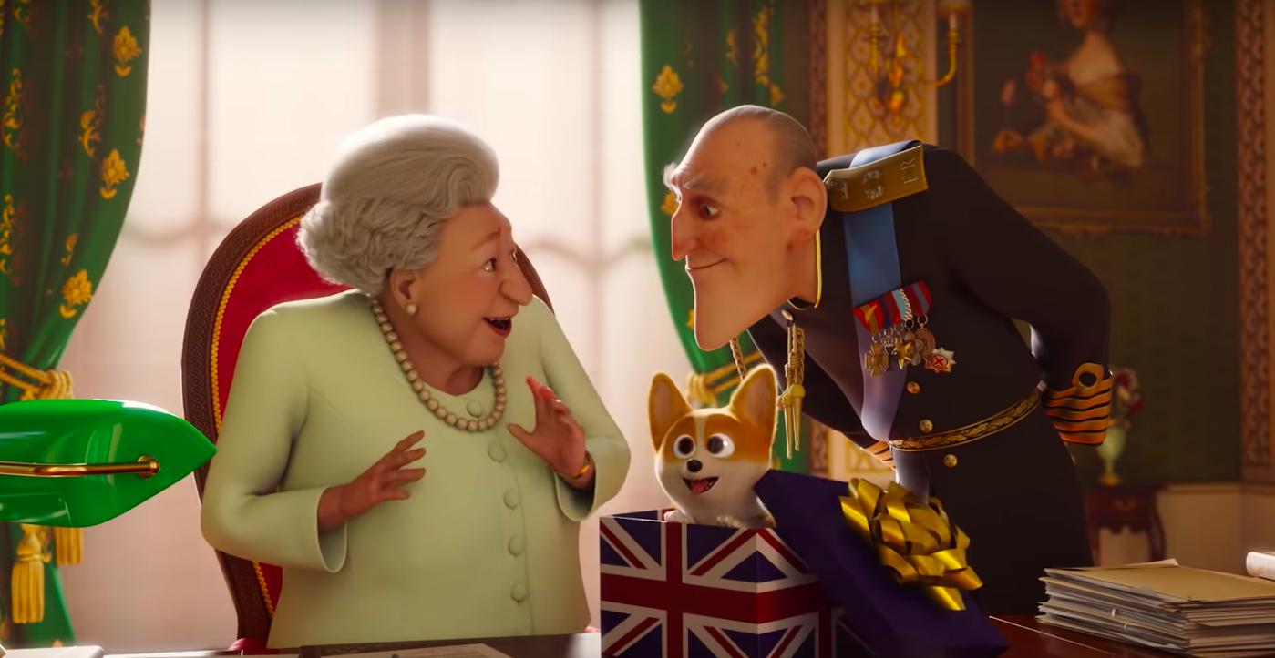 El corgi de la Reina Isabel tendrá su propia película animada