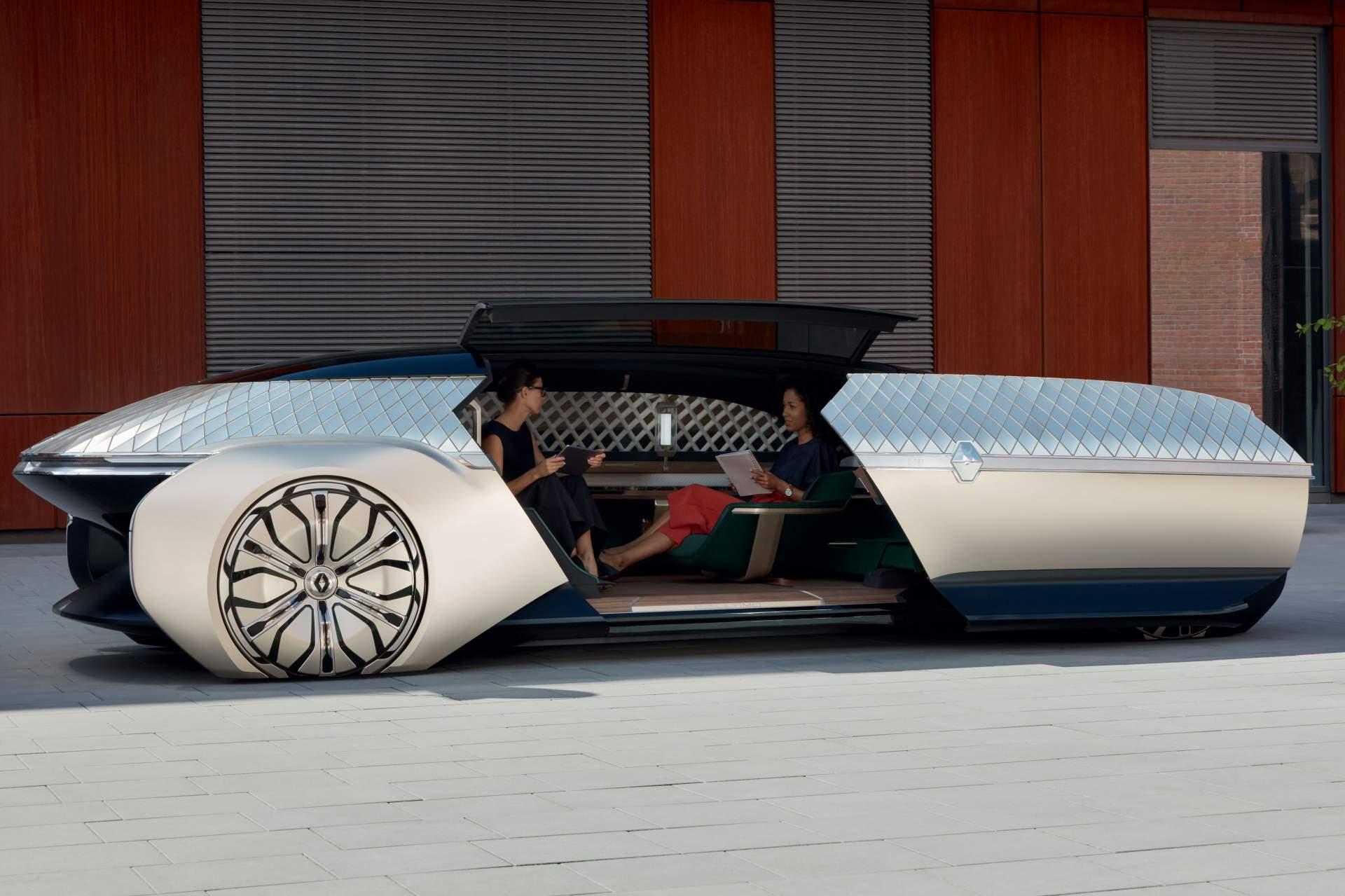 Renault EZ-Ultimo, el coche – robot que parece sacado de un filme de ciencia ficción