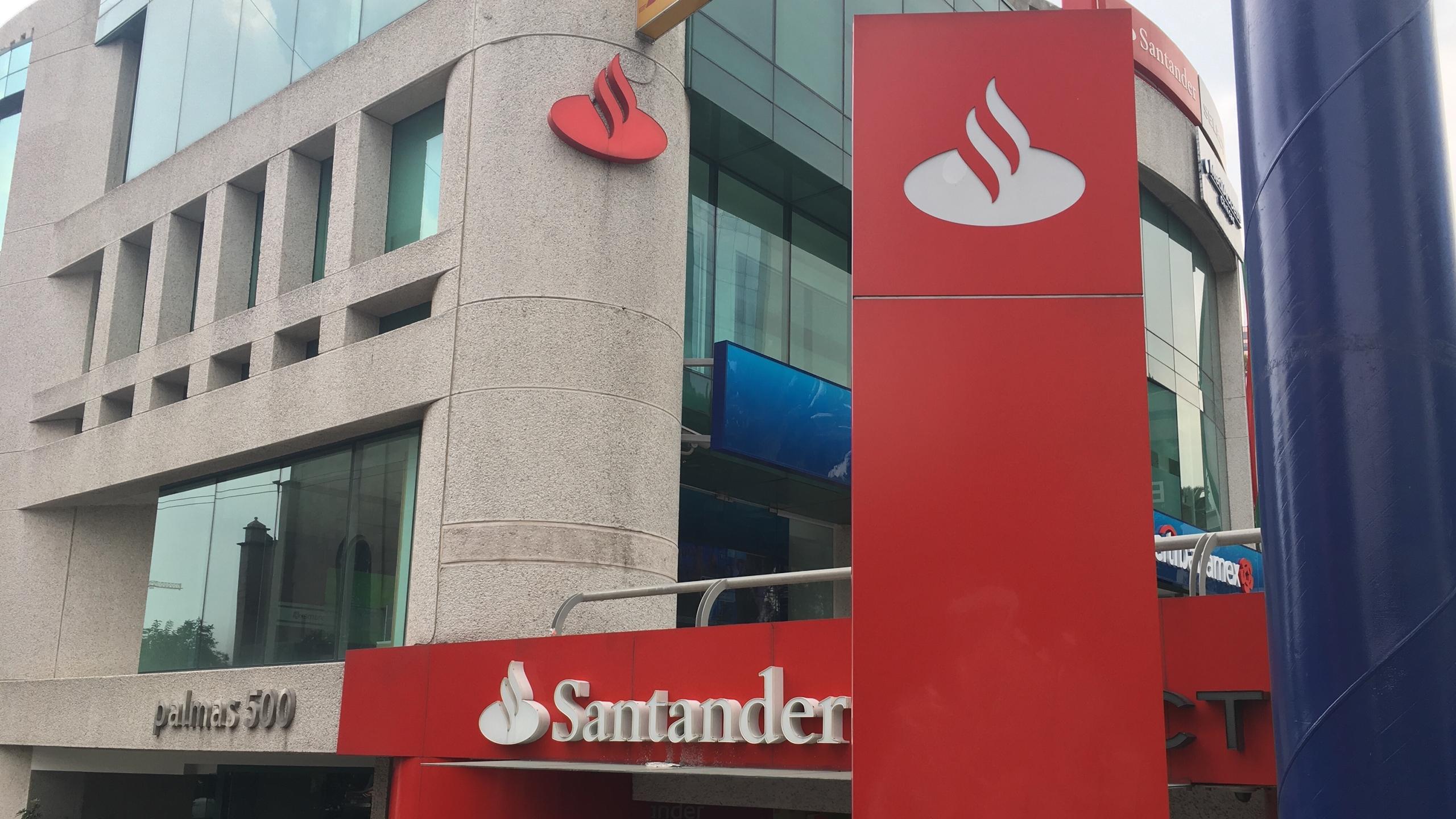 Ganancias de Santander en México crecen 4% en lo que va de 2018