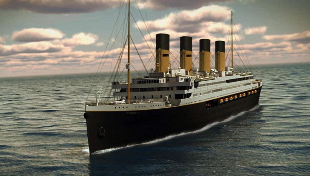 ¿Viajarías en la réplica del Titanic? Aún estás a tiempo de reservar