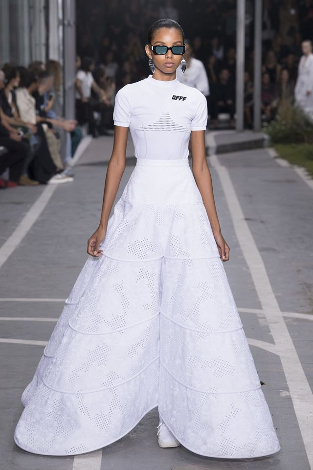 Virgil Abloh vestido de novia
