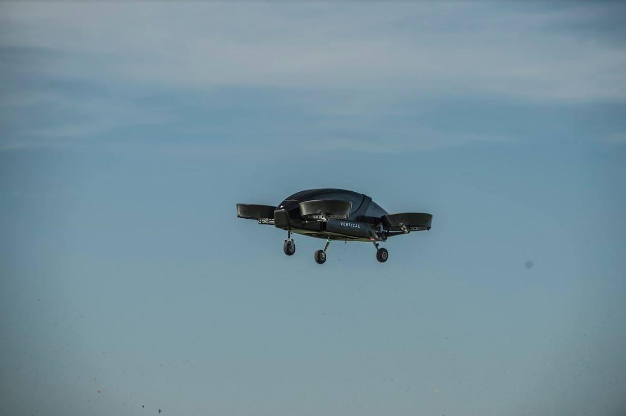 Vertical taxi aéreo