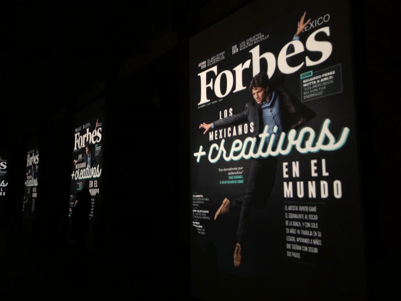 Forbes México revela su portada de los mexicanos más creativos 2018