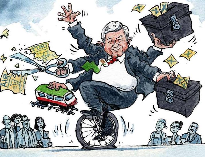 'The Economist' le dice 'Adiós' a la certeza económica de México por AMLO