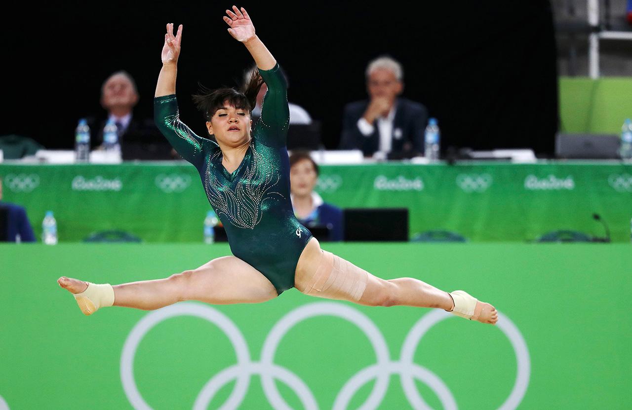 Alexa Moreno hace historia: sube al podio en el mundial de gimnasia