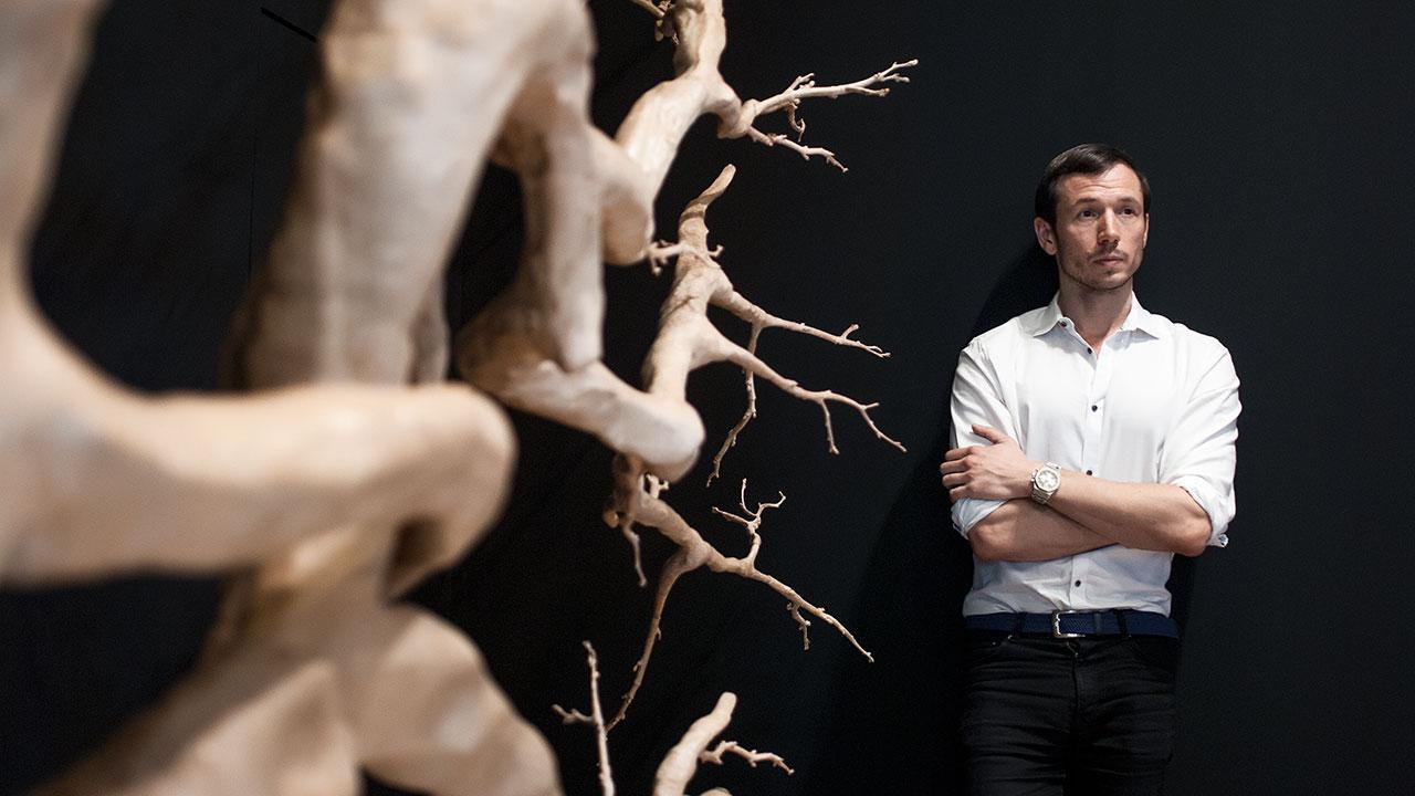 Sebastián Errázuriz muestra la faceta más artística de Audemars Piguet