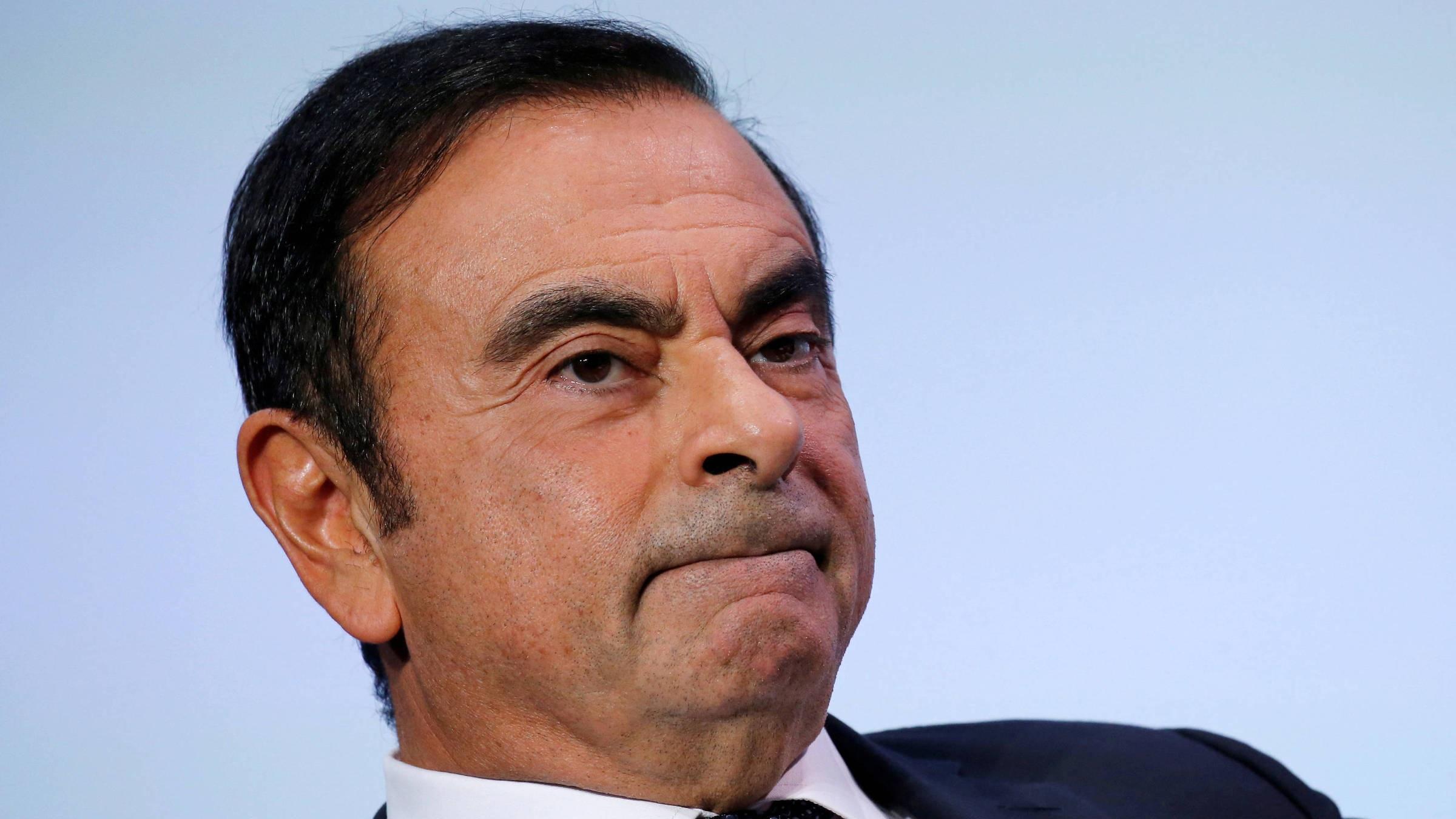 Nissan presenta querella criminal contra su expresidente Carlos Ghosn