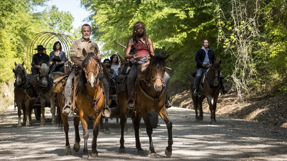 'The Walking Dead' anuncia segunda parte de la novena temporada