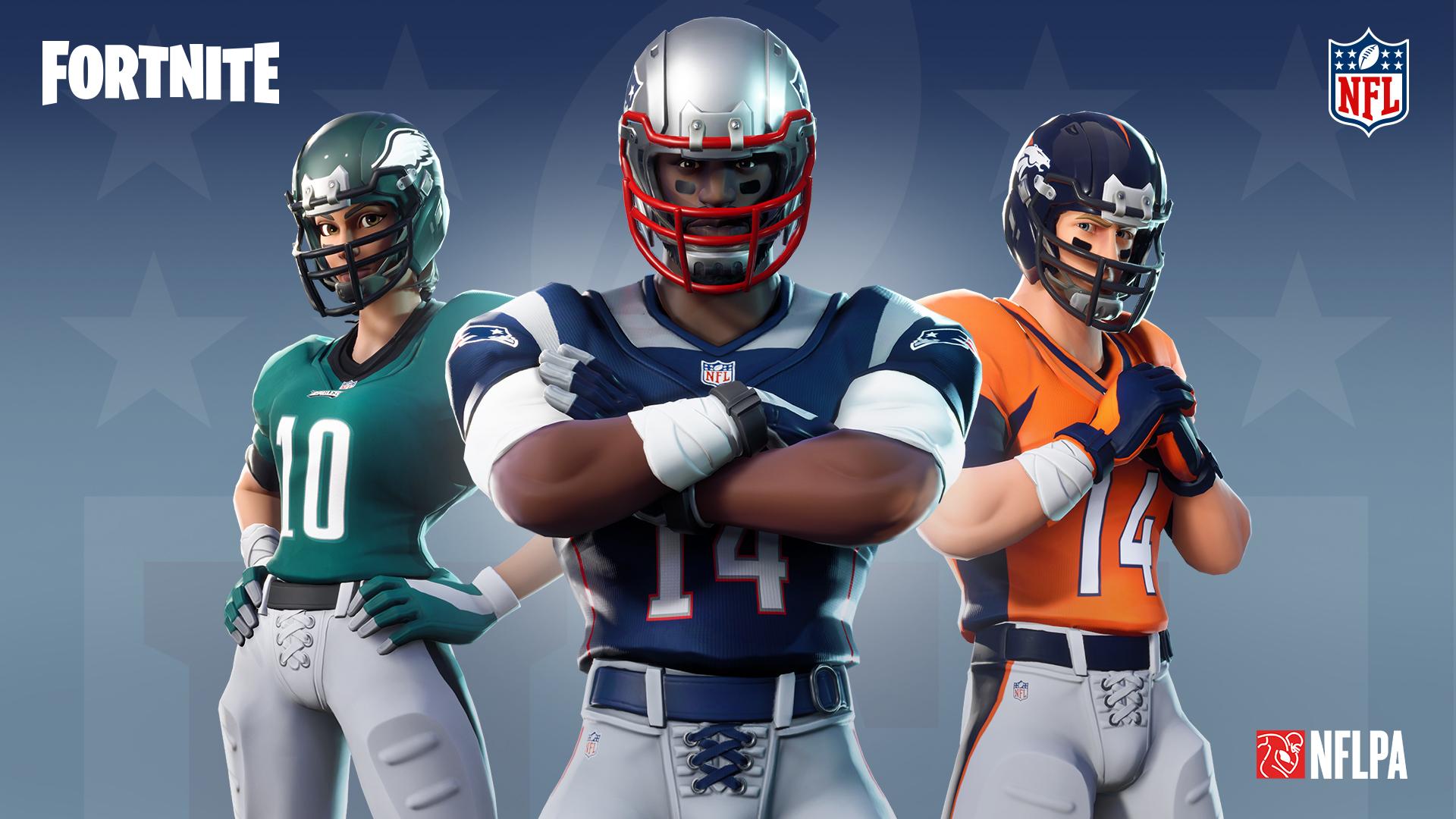 Fortnite y la NFL firmaron una alianza que no decepcionará a los fans