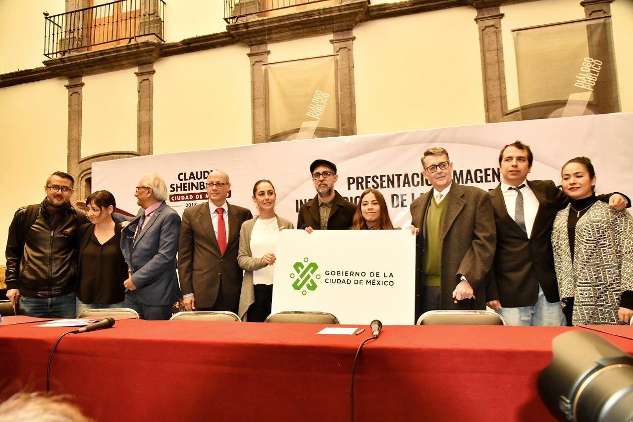 Éste es el nuevo logotipo del gobierno de Ciudad de México