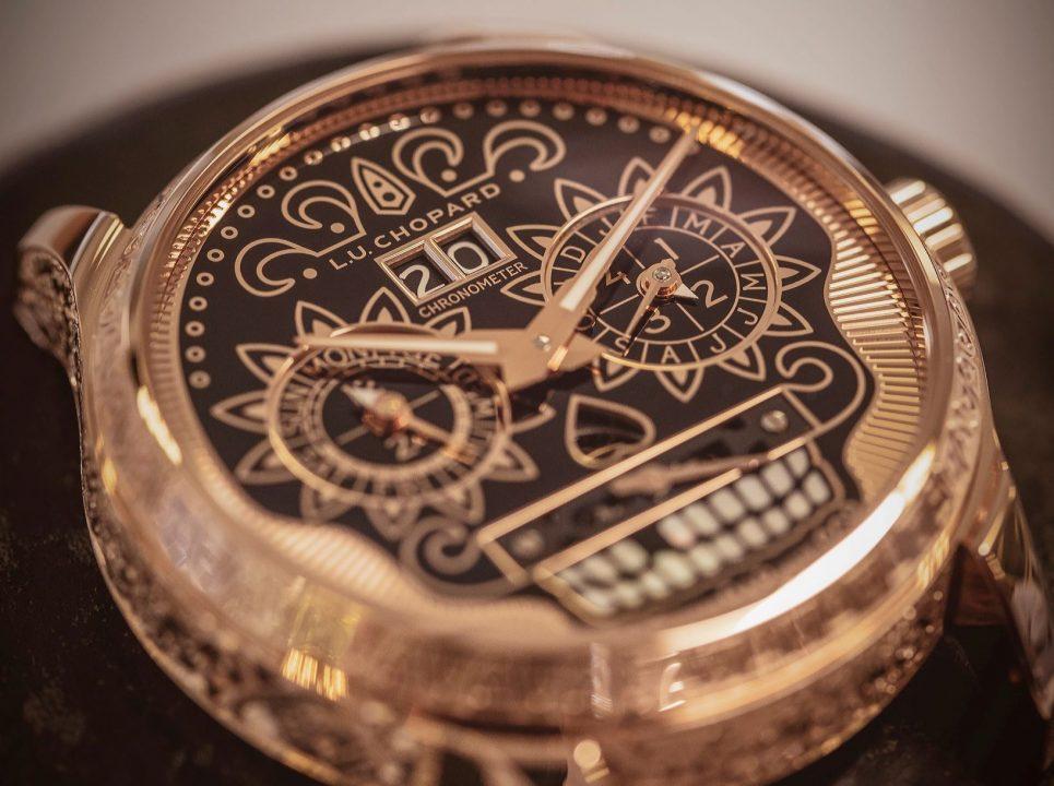 Chopard crea un reloj inspirado en el Día de Muertos