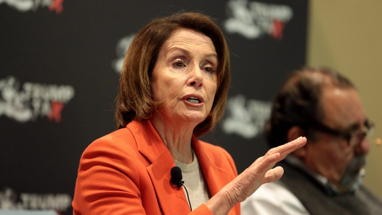 ¿Nancy Pelosi, la opositora de Trump?