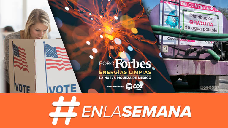 Agenda Forbes | Alternativas para el modelo energético de México; Trump y su futuro, a las urnas