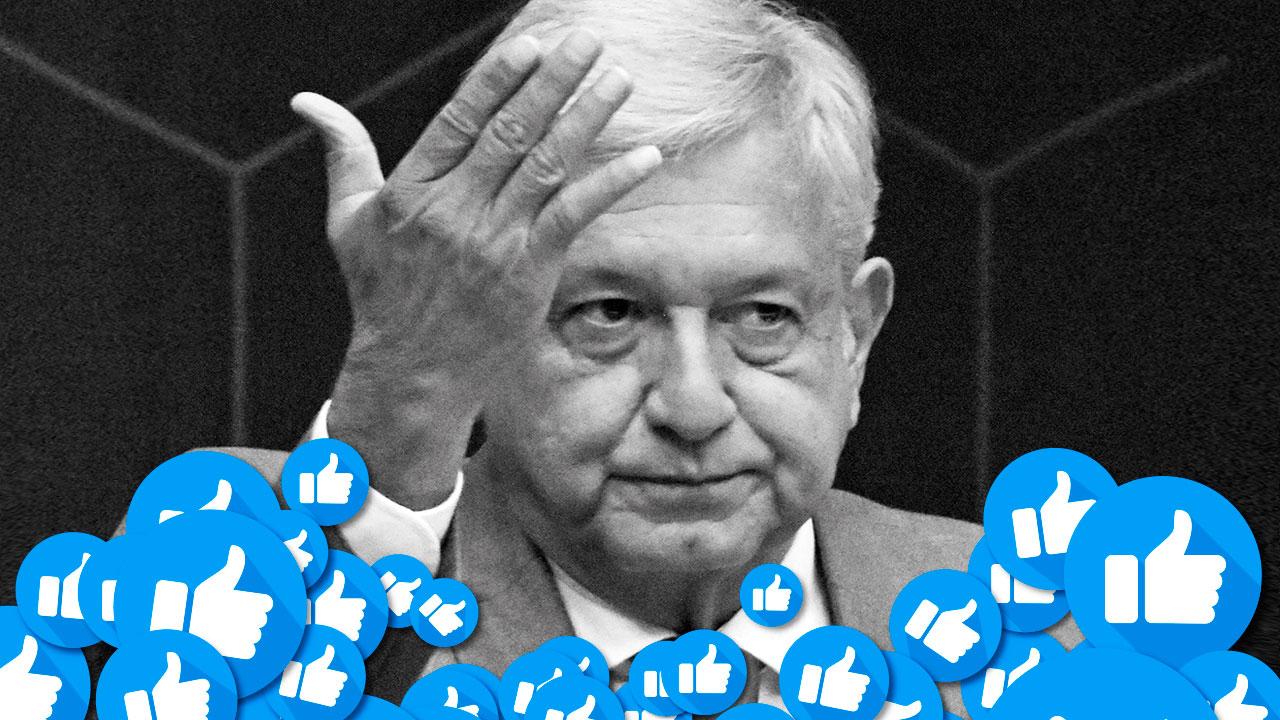 Las benditas redes sociales que le dieron 'like' a AMLO