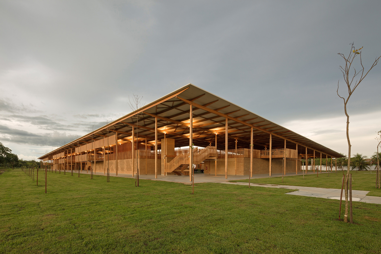 'Pueblo infantil' de Brasil es el mejor edificio nuevo del mundo: RIBA