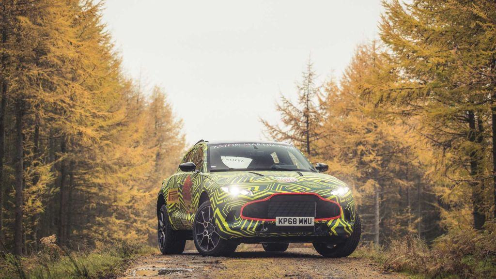 Aston Martin rompe las reglas con la DBX, su primera SUV