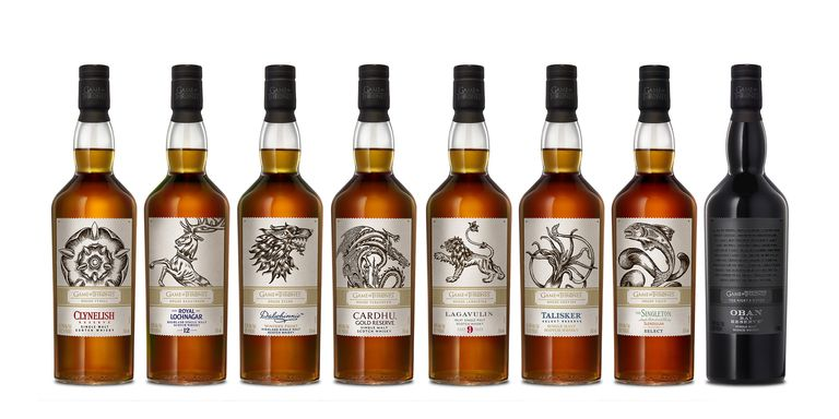 HBO lanza colección de whisky de 'Game of Thrones'