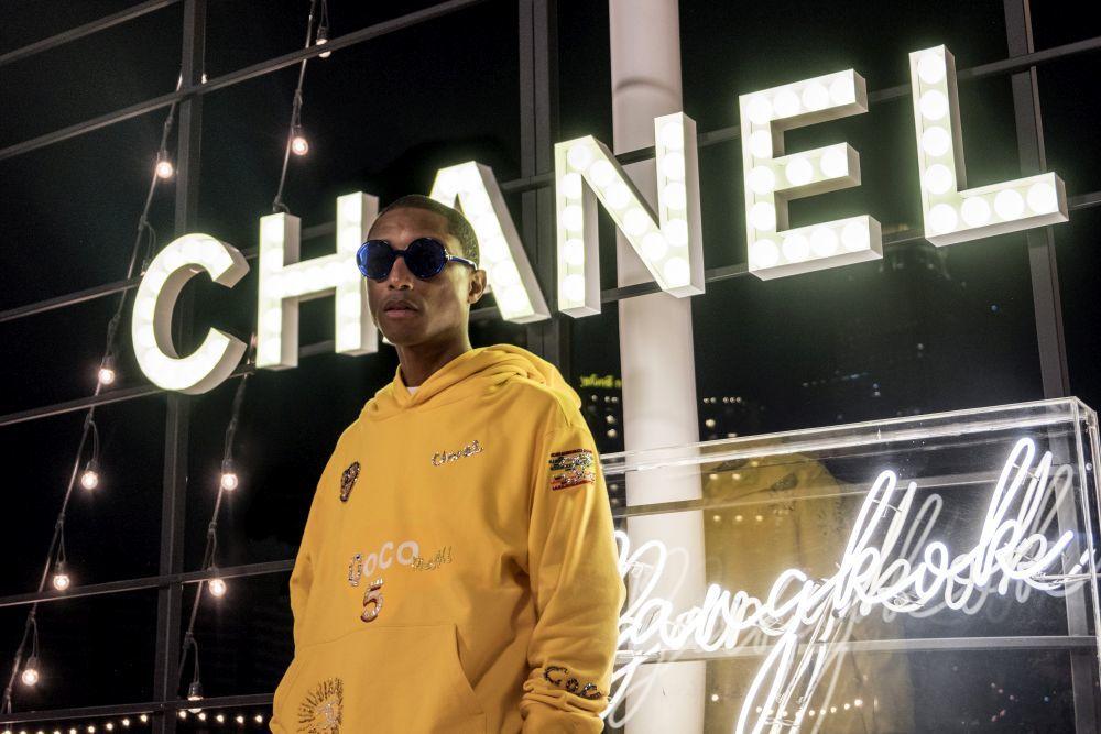 Pharrell Williams dará vida a la nueva colección de Chanel