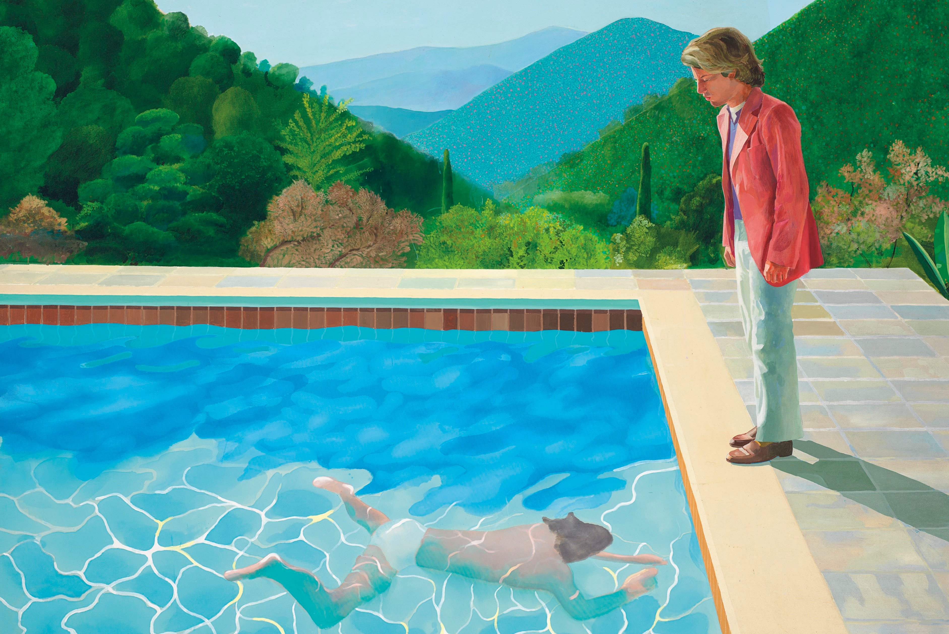 David Hockney es el artista vivo mejor pagado del mundo