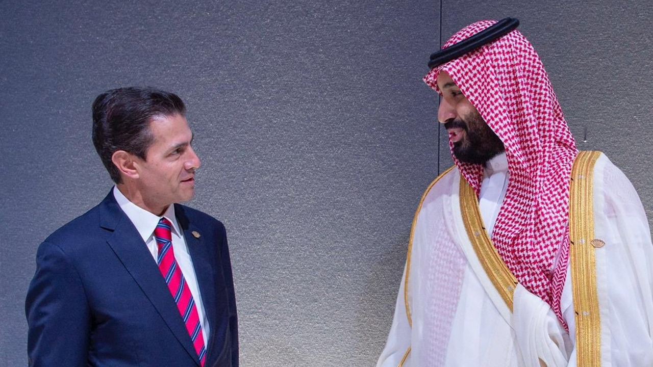 Peña se reúne con príncipe saudí acusado de asesinato de periodista