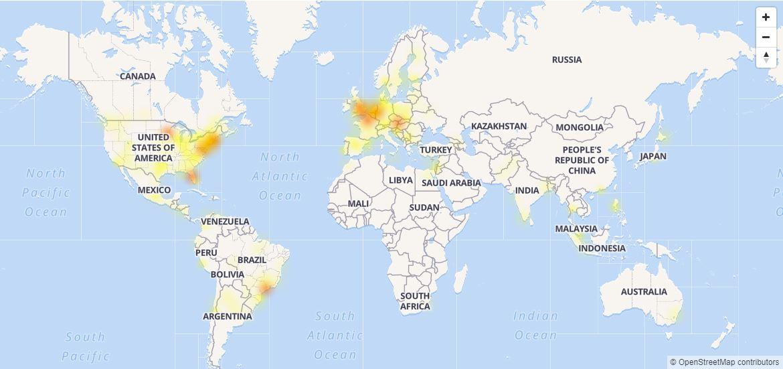 Facebook vuelve a sufrir caída a nivel mundial