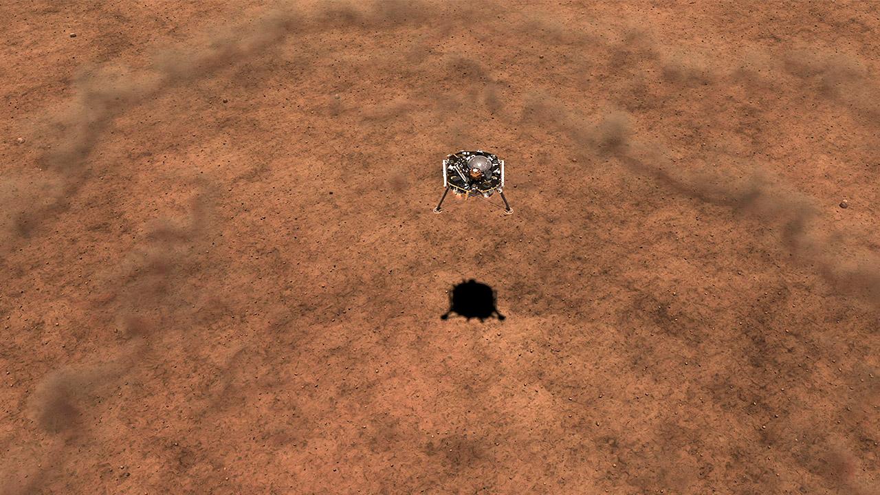 Sonda InSight de la NASA llega a Marte para histórica misión