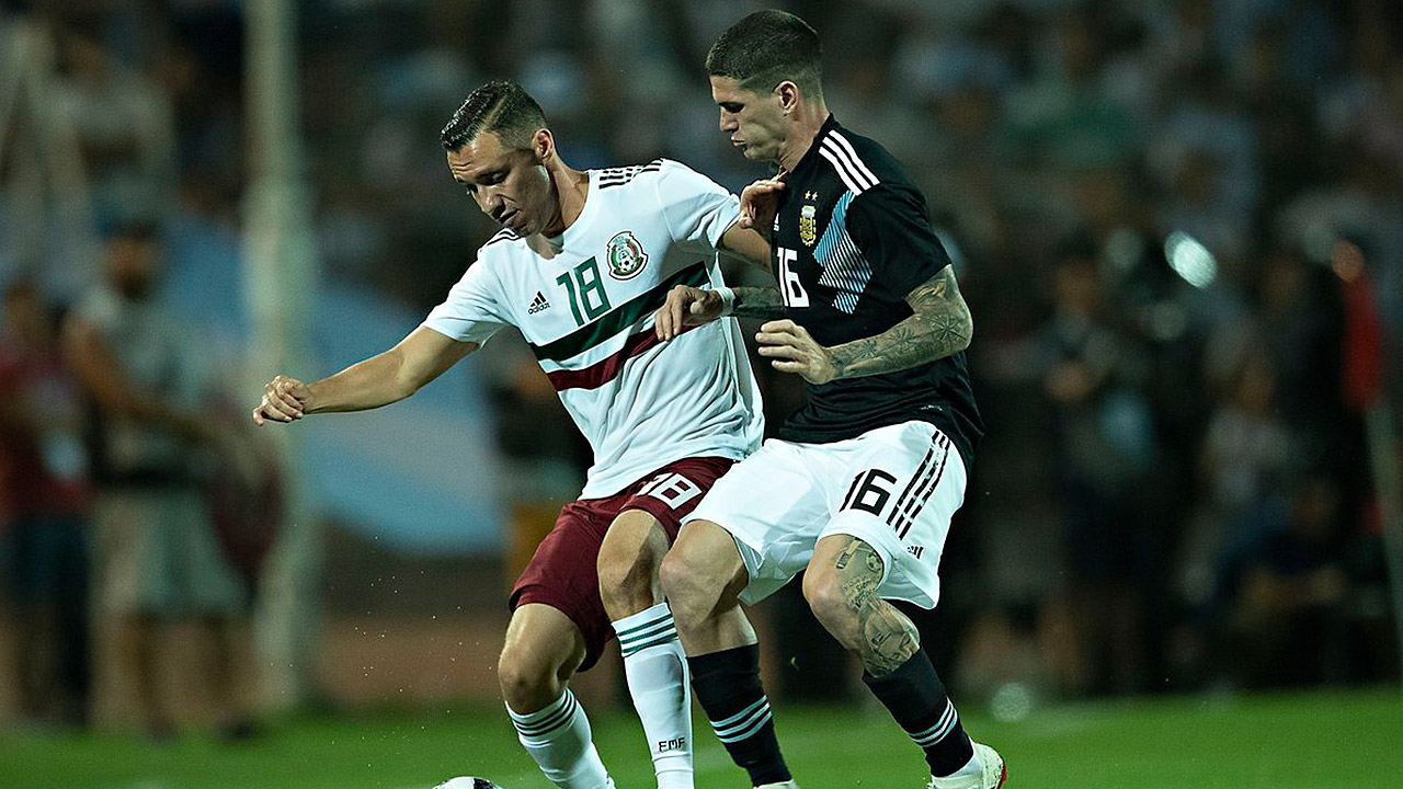Argentina le repite la dosis a la Selección Mexicana
