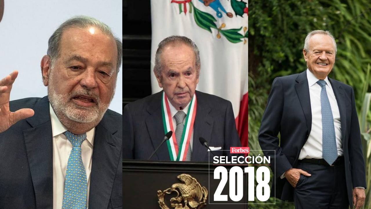 Selección 2018 |  Aniversario Forbes | Así se comportaron las fortunas mexicanas en 6 años