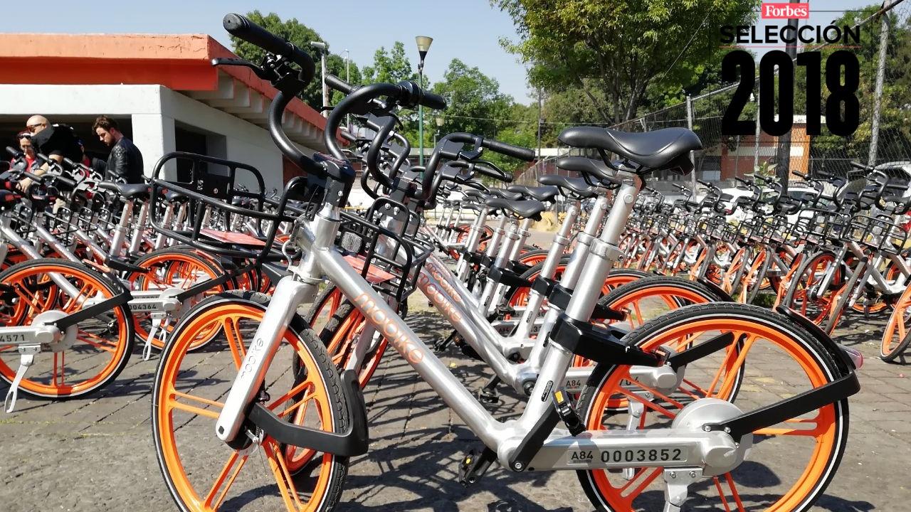 Selección 2018 | Mobike quiere estacionar sus bicis en cada cuadra de CDMX