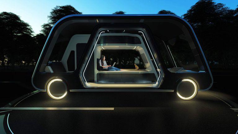 Suites móviles: así serán los hoteles de lujo del futuro
