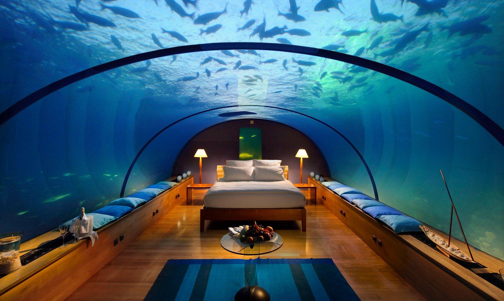 Inauguran el primer hotel submarino del mundo en Maldivas