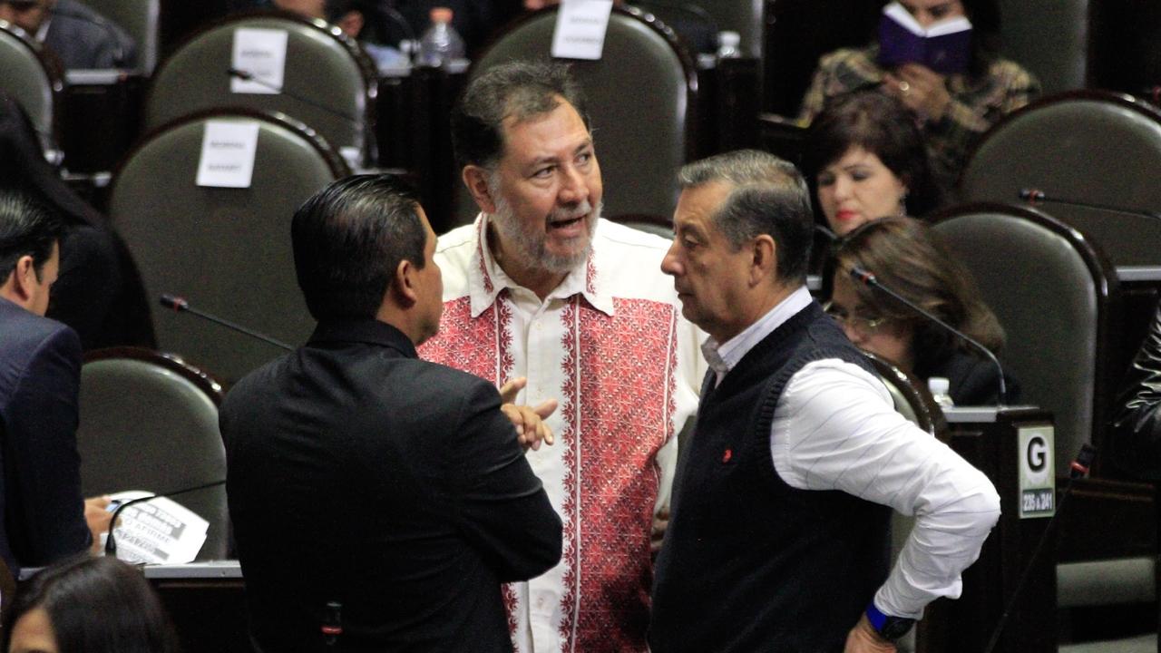Fernández Noroña, con sospecha de Covid-19; decide aislarse